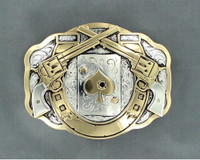 Trophy Peacemaker Belt Buckle