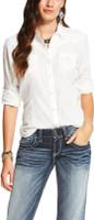 Ariat Women's  Butte Snap Shirt White