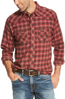 Ariat Men's Taft Red Flannel