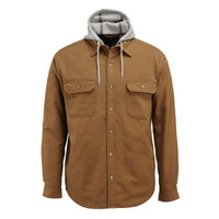 Wolverine Men's Overman Hooded Jacket Chestnut