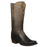 Lucchese Women's Maxine Cowboy Boots - Pearl Bone