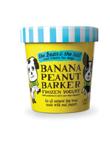 "Banana Peanut Butter ""Ice Cream"" for Dogs"