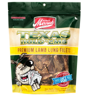Merrick Texas Hold 'Ems Lamb Lung Dog Treats