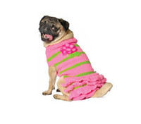 Pink Flower Skirt Dog Sweater