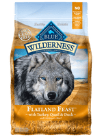 Blue Wilderness Flatland Feast™ with Turkey, Quail & Duck Dry Dog Food