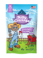 Blue Buffalo Kitty Cravings Chicken Crunchy Cat Treats