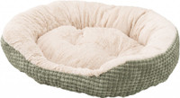 Sleep Zone Corngrain Step-In 22″  Pet Bed  - Sage