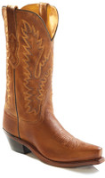 Jama Old West Women's Canyon Cowboy Boots - Tan