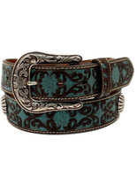 Ariat Women's Victorian Turquoise  Belt