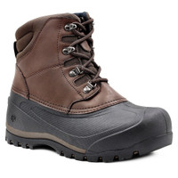 NorthSide Men's Freestone Snow Boot in Dark Brown