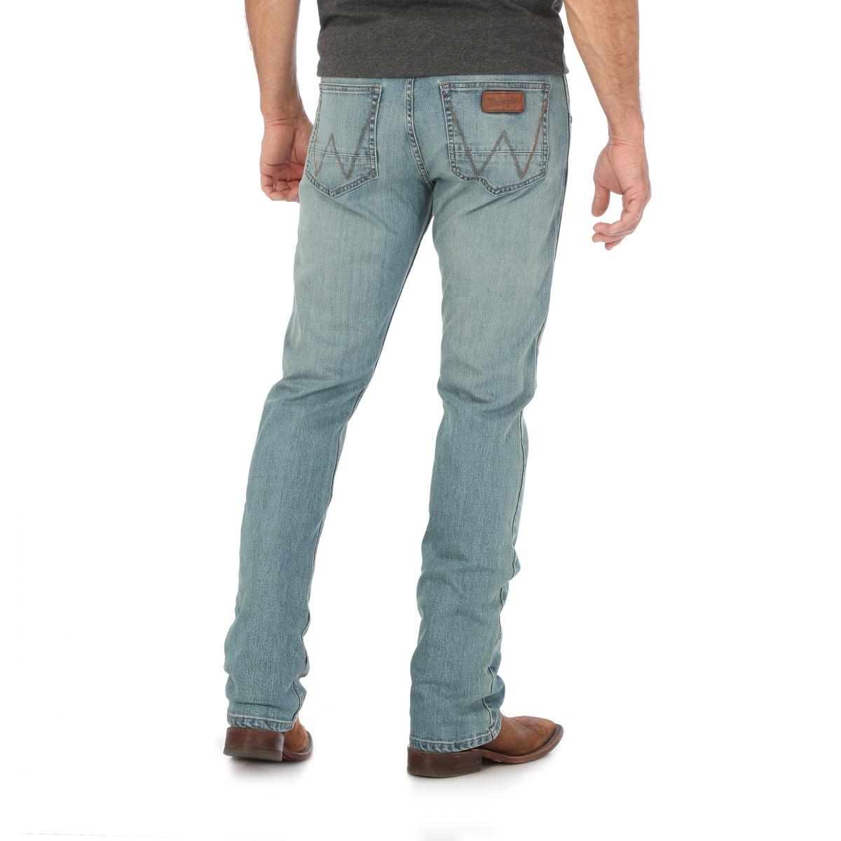 37c33a8a ... Wrangler Retro® Slim Straight Jean light Wash. Image 1 · Image 1 ·  Image 2 ...