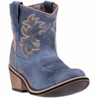 Laredo Women's Sapphyre Short Blue Cowboy Boot