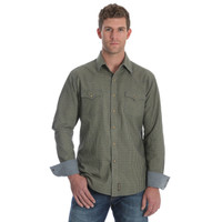 Wrangler Men's Retro Premium Long Shirt Shirt