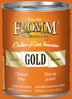 Fromm Gold Chicken & Sweet Potato Pâté 12oz Canned Dog Food