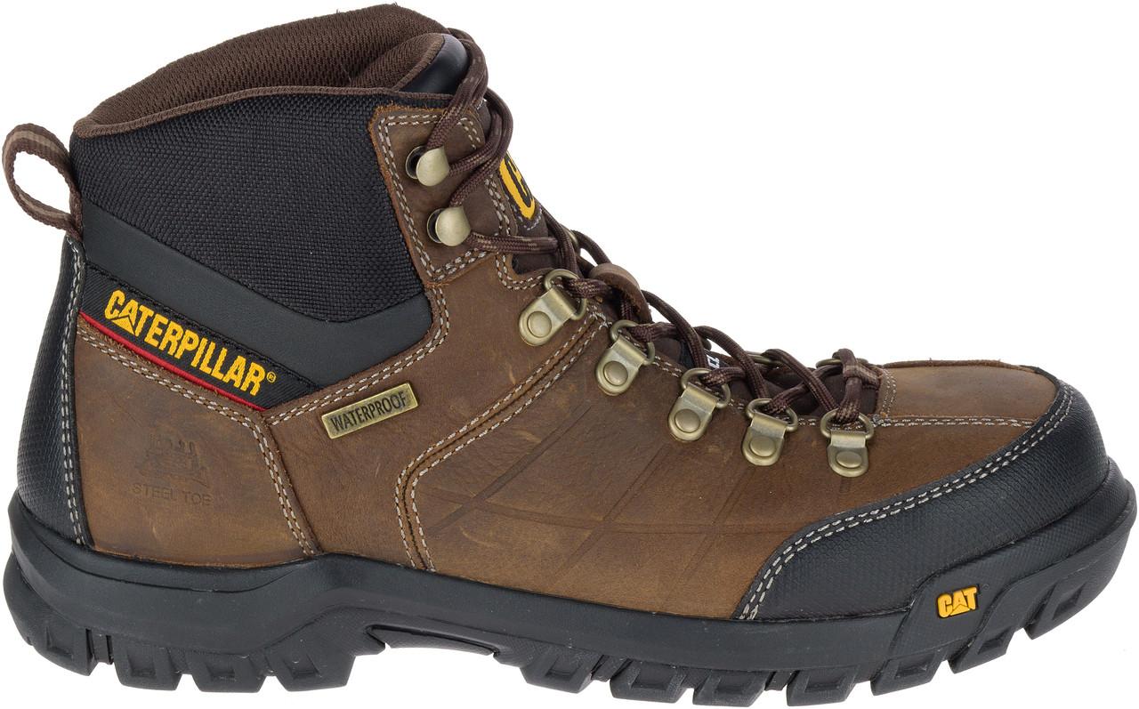 cabcb4e0cba Cat Men's Threshold Waterproof Steel Toe Work Boot - Brown