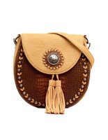 Blazin Roxx Women's Crossbody Western Handbag Brown