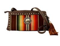 Blazin Roxx Women's Josie Crossbody Multi Western Handbag