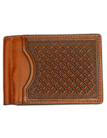 Nocona Western Wallet Men's Money Clip Leather Wallet