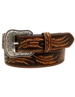 Ariat Men's Embossed Repeating Leaf Logo