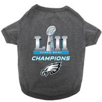 NFL Philadelphia Eagles Super Bowl LII Championss Dog Jersey