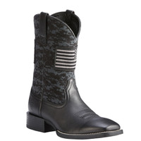 Ariat Men's Sport Patriot Work Boots - Black Camo