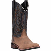Laredo Men's Montana Square Toe - Tan and Black