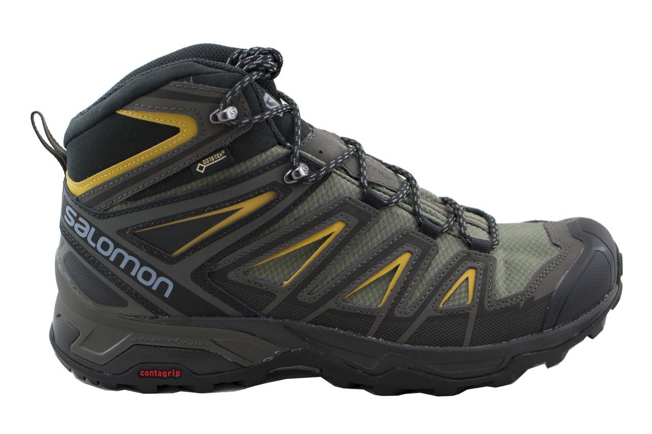 gore-tex 401337 Men/'s shoes hiking Salomon X ULTRA 3 GTX mid