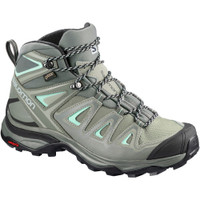 Salomon Women's X Ultra 3 Mid GTX Gray