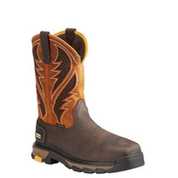 Ariat Men's Intrepid Venttek Composite Toe Work Boots - Brown