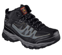 Skechers Men's Holdredge Mid Steel Toe - Black