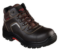 Skechers Men's Sosder Burgin Mid Composite Toe Brown