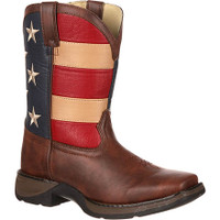 Durango Kid's Rebel Patriotic Flag Boot