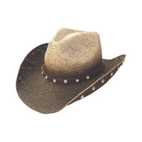 Dallas Hats Women's Hannah Western Straw