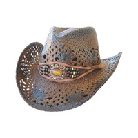 Dallas Hat Women's Outback Western Straw Hat