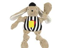 Referee Bunny Knottie Dog Toy