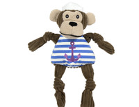 Knottie Sailor Monkey Dog Toy