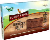 Purely Turducky Bacon Strips Dog Treat 2.5oz