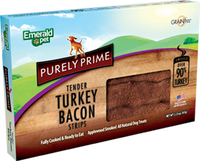 Purely Turkey Bacon Strips Dog Treat 2.5oz