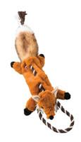 "Skinneeez Tugs Fox Dog Toy 23"""