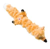 "Skinneeez X Quilt Fox Dog Toy 23"""