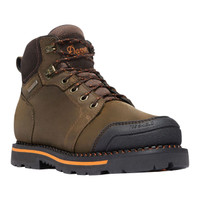 "Danner Men's Trakwelt 6"" Work Boot Waterproof Composite Safety Toe - Brown"