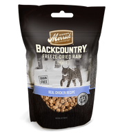 Merrick Backcountry Freeze-Dried Raw Treats - Real Chicken Recipe Cat Treat