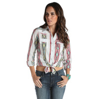 Wrangler Women's Pattern Long Sleeves Shirt