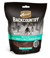 Merrick Backcountry Wild Fields Real Turkey + Sweet Potato Patties Dog Treats