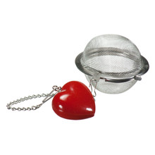 "2"" Mesh Ball Infuser - Heart"
