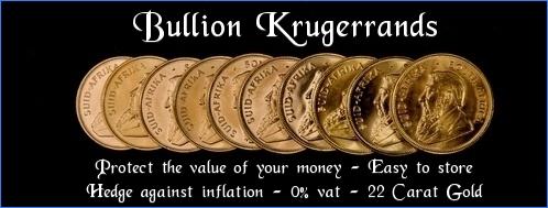 Bullion Krugerrand Prices
