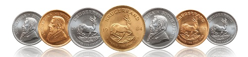 Gold and Silver Bullion Krugerrands