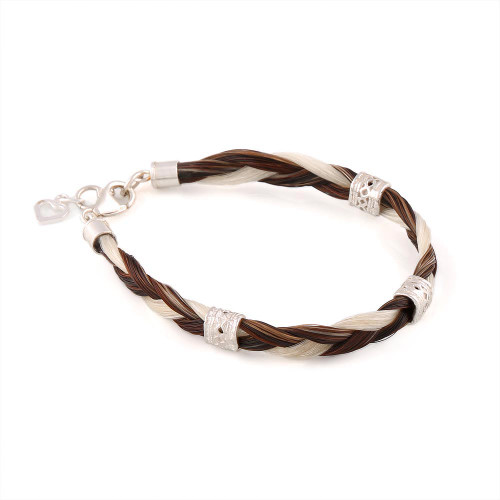 The Single Flat Timeless Horsehair Bracelet