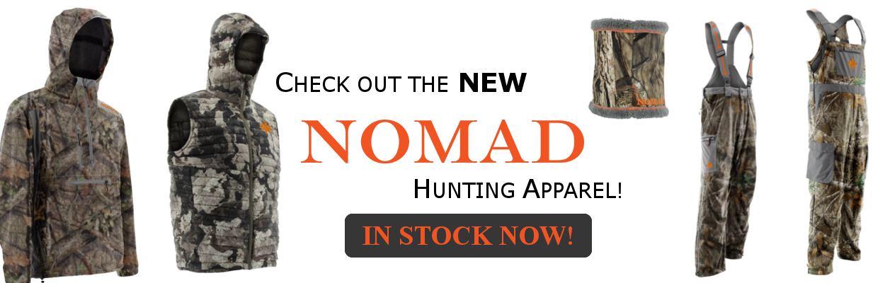 Nomad's new 2018 gear is available now!