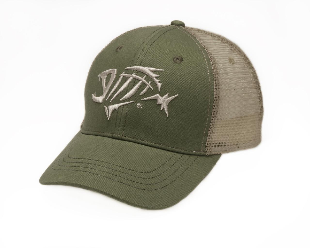 b5d70004577bb G. Loomis Skeleton Fish Logo Bandit Trucker Fishing Cap - Swanson s ...